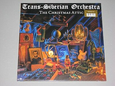 TRANS-SIBERIAN ORCHESTRA (TSO)  The Christmas Attic 2LP  New Sealed Vinyl 2 LP