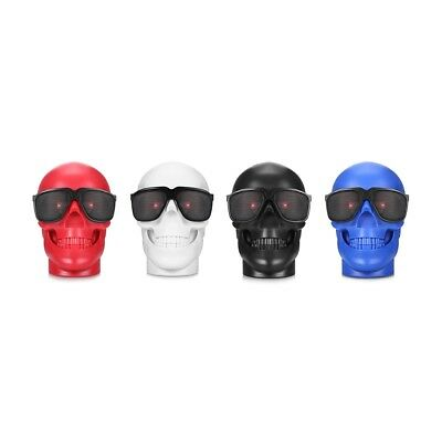 M29 3W 10.5m 128GB Fashion Skull Bluetooth Speaker Portable Wireless Player