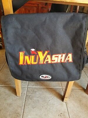Inuyasha Black Messenger Bag By Mythwear- W/Embroidered Logo- Nice!!