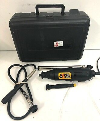 SuperWork Rotary Tool Kit with 135W RY135FC - Bids From $1