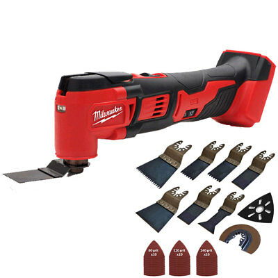 Milwaukee M18BMT-0 M18 18V Compact Multi Tool Body With 39pcs Accessories Set