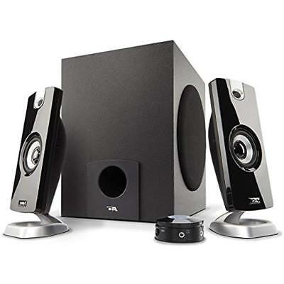 2.1 Subwoofer Speaker System With 18W Power Great For Music, Movies, Gaming, And