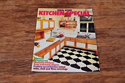 Ideal Home Kitchen Special April 1973 70s design kitchens 1970s Seventies style