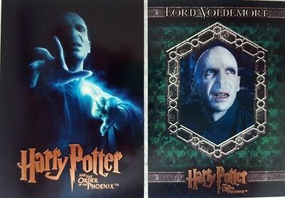 HARRY POTTER & The Order of the Phoenix Update TRADING CARD SET 90 artbox