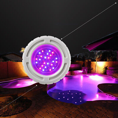 Underwater Led Swimming Pool Light SMD6W RGB For 2 Inch Wall Fittings Bulb Lamp
