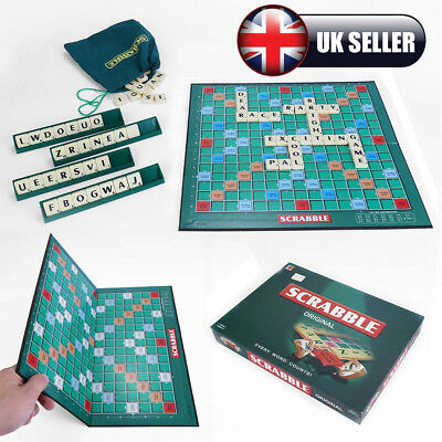 Classic Scrabble Crossword Traditional Board World Game Kids Adult Family Travel