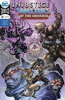 Injustice Vs The Masters Of The Universe #3 (Of 6) Dc Comics Near Mint 9/19/18