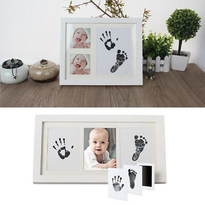 Baby Safe Inkless Touch Footprint Handprint Ink Pad Mess Free Commemorate JSD