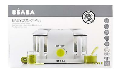 Béaba 912465 Robot cocina for baby 4 in 1 baking mix defrost and heats