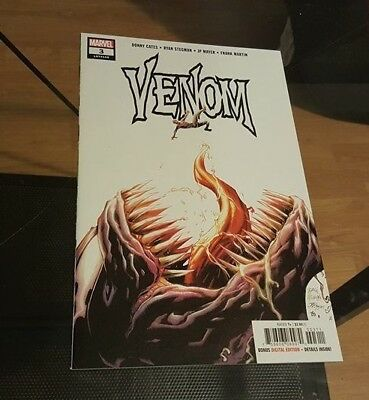 Venom #3 1st Appearance of Knull, Symbiote God Donny Cates NM Miles Morales