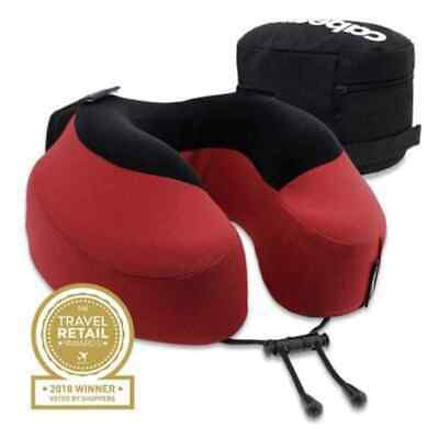 Cabeau Evolution® S3 Memory Foam Neck Travel Pillow Red