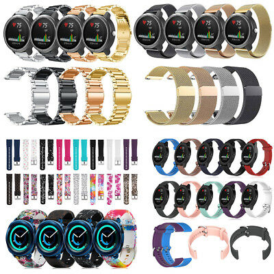Stainless Steel / Milanese / Silicone Strap Wrist Band for Garmin Vivoactive 3