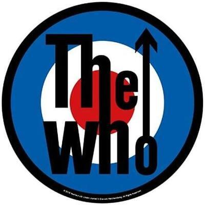 Official Licensed - The Who - Target Back Patch Rock Mod Daltrey Quadrophenia