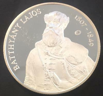 5000 Florint Proof Hungary 2007 'Batthyany Lajos' Silver coin