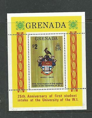 1974 The 25th Anni of Uni W 1  Mini Sheet Complete MUH/MNH as Purchased