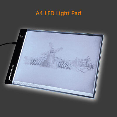 Dünne A4 LED Kunst Handwerk Reißbrett Tisch Pad Tracing Tattoo Light Box XC701