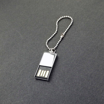 Mini USB 2.0 4G 16GB Metal Flash Memory Stick Pen Drive Storage Thumb U Disk