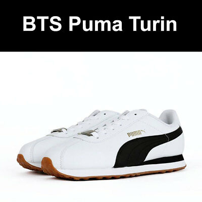 67045f569bb BTS Puma Turin Shoes Sneakers Small Size Free Shipping with Photo Card  Official✅