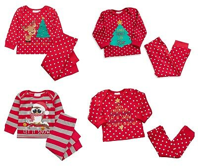 Baby Christmas Pyjamas 6-9 months up to 12-18 Last Years Stock so BARGAIN PRICE