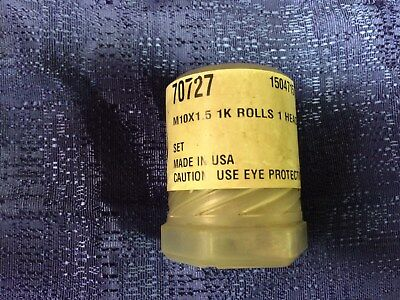 Fette Thread Rolls M10x1.5 1K  EDP-70727 Art# 1504715  NEW