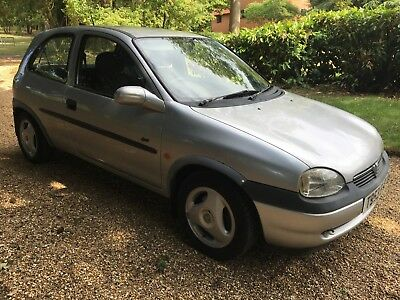 Vauxhall Corsa b Sport 1.6 16v 1999 RARE full service history only 109 on road