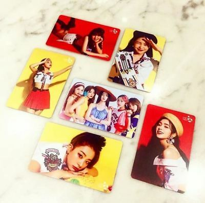 Red Velvet Smtown Giftshop Official Goods Summer Magic Cashbee Photocard Card