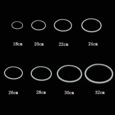 30cm Silicone Stretchy Rubber Transparent Gasket Pressure Cooker Seal Ring