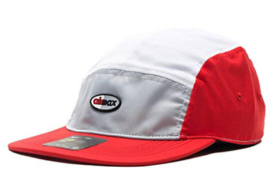 ca5e138e Nike Air Max NSW AW84 Aerobill Hat Cap Adjustable Red Wht Gry 891297-012 NEW