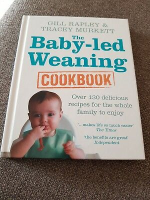 Gill Rapley Baby Led Weaning Cookbook Hardback