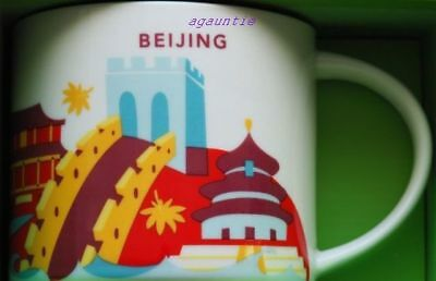 US Seller - New Starbucks You Are Here (China City) BEIJING 14 oz. MUG Cup