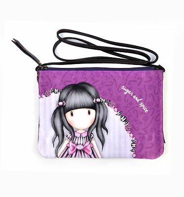 SANTORO GORJUSS DOUBLE Pouch Cross Body Bag Sugar and