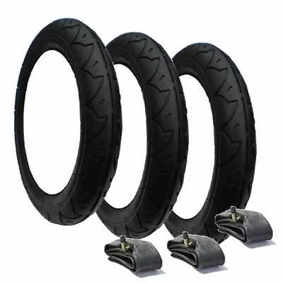 Phil and Teds Tyres & Tubes (Set of 3) - Great Value