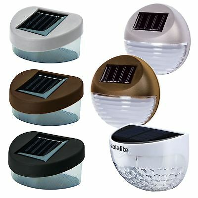 Solar Powered Garden Walkway Pathway LED Shed Fence Lights Lamps Lanterns