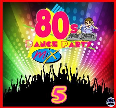 The 80s Party Mix 5 -Non Stop Dj Video Mix Dvd- 65 Minutes Of Hits!!! 1980 - '89