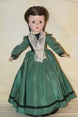 "GORGEOUS! Vintage 14"" Tagged Madame Alexander Marme Hard Plastic Strung Doll"