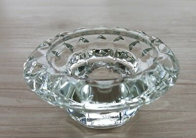 Bolsius Glass Crystal Candle Holder/ Candle Stick