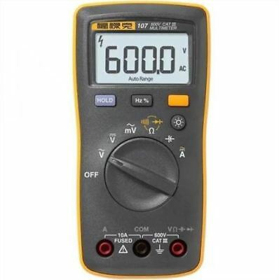 Digital Multimeter Fluke 107 Palm-Sized Portable Handheld New