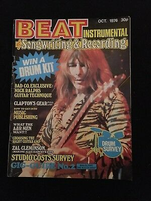 beat instrumental Oct 1976 Songwriting &recording