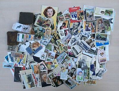 Mixed Job Lot Of Approx 800 Trade Cards / Stickers / etc