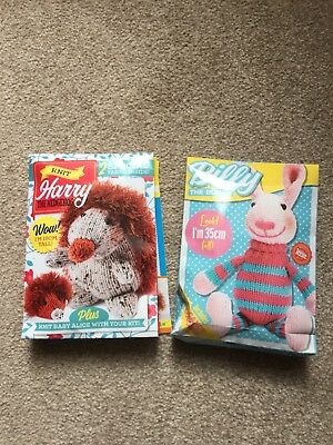 Two Knitted Toy Kits