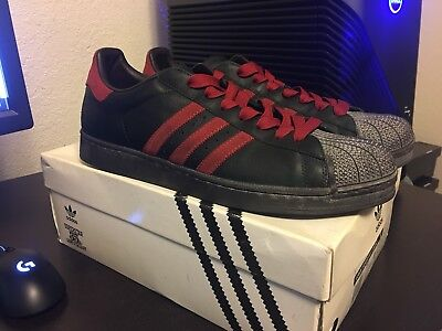 0c88eba8265623 VINTAGE ADIDAS SUPERSTAR IAN BROWN 35th Anniversary Trainers ONLY ...