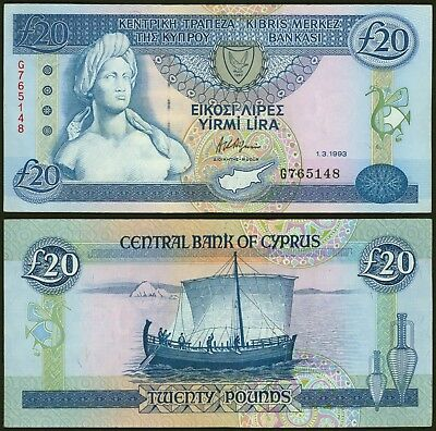 Cyprus - Banknote Circulated
