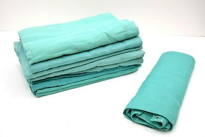 5 Pack Ex Army Dust Sheets 100% Cotton Twill Thick Durable 145 x 185cm Large