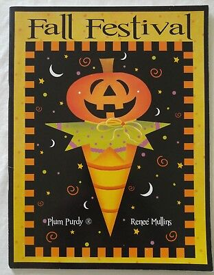 Plum Purdy Decorative Painting Pattern Book FALL FESTIVAL by Renee' Mullins