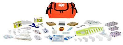 DIXIE EMS FIRST RESPONDER II TRAUMA BAG - Fully Stocked - Orange