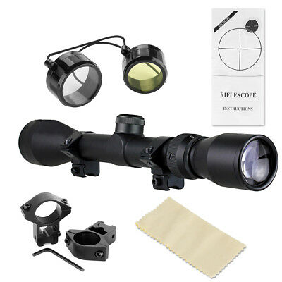 Excelvan 3-9x40 Jagd Zielfernrohr 11mm mit Mount Sight Hunting Jäger Scope DE
