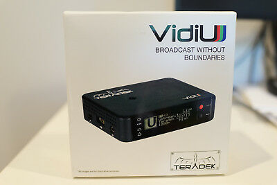 Teradek VidiU - used with original accessory