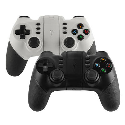 ZM-X6 Wireless Bluetooth Gamepad Controller Remote for iPhone 8/7/6S Black/White