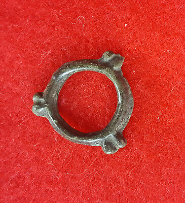 H95:  Ancient Celtic Bronze Proto Money Piece Knobed Design