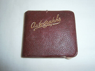 Tiny VINTAGE Autograph Book - Abbeydale Secondary Modern, SHEFFIELD 1937